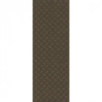 TrafficMASTER Allure Commercial 12 in. x 36 in. Stamped Steel Chocolate Vinyl Flooring (24 sq. ft./case)