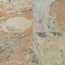Daltile Natural Stone Collection Autumn Mist 16 in. x 16 in. Slate Floor and Wall Tile (10.68 sq. ft. / case)