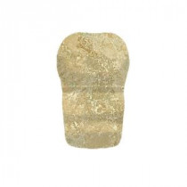 Daltile Fantesa Cameo 2 in. x 2 in. Ceramic Chair Rail Corner Wall Tile