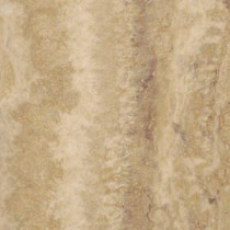 TrafficMASTER Allure Allure Ivory Travertine Resilient Vinyl Tile Flooring - 4 in. x 4 in. Take Home Sample