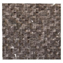 Solistone Cubist Gris 12 in. x 12 in. Marble Natural Stone Mosaic Wall Tile (5 sq. ft./Case)