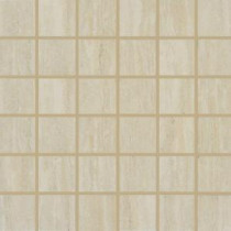 MS International Travertino Romano 12 in. x 12 in. Beige Porcelain Mesh-Mounted Mosaic Tile