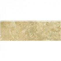 Daltile Fantesa Cameo 3 in. x 12 in. Ceramic Bullnose Tile