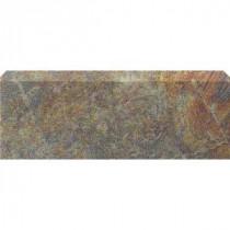 U.S. Ceramic Tile Stratford Bamboo 3 in. x 12 in. Ceramic Bullnose Floor & Wall Tile
