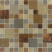 MS International 12 in. x 12 in. Metropolitan Blend Mesh-Mounted Mosaic Tile