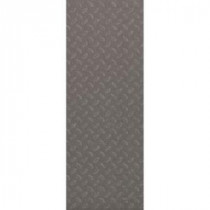 TrafficMASTER Allure Commercial 12 in. x 36 in. Stamped Steel Silver Vinyl Flooring (24 sq. ft./case)