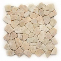Solistone Indonesian Mosaic 12 in. x 12 in. Alor Crystal Onyx Mesh-Mounted Mosaic Tile