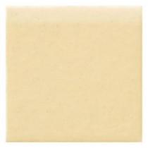 Daltile Semi-Gloss Cornsilk 4-1/4 in. x 4-1/4 in. Ceramic Bullnose Wall Tile