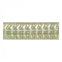 Daltile Cristallo Glass Peridot 3 in. x 8 in. Perennial Glass Accent Wall Tile