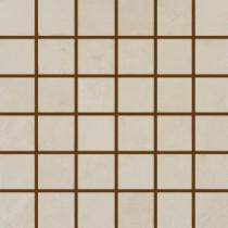 MS International Castillo 12 in. x 12 in. Beige Porcelain Mesh-Mounted Mosaic Tile