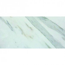 MS International Calacatta Ivory 24 in. x 12 in. Porcelain Floor and Wall Tile