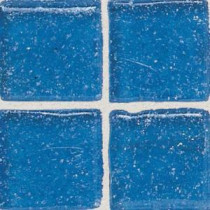 Daltile Sonterra Glass Crystal Blue 12 in. x 12 in. x 6mm Glass Sheet Mounted Mosaic Wall Tile (10 sq. ft. / case)