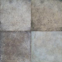 Daltile Terra Antica Celeste/Grigio 12 in. x 12 in. Porcelain Floor and Wall Tile (15 sq. ft. / case)
