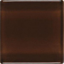 Daltile Isis Chocolate Sundae 12 in. x 12 in. x 3mm Glass Mesh-Mounted Mosaic Wall Tile (20 sq. ft. / case)