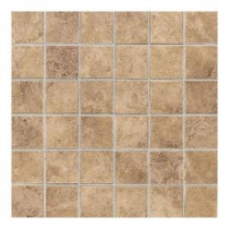 Daltile Carano Golden Sand 12 in. x 12 in. Ceramic Mosaic Floor and Wall Tile (10 sq. ft. / case)