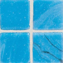 Daltile Sonterra Glass Cancun Blue 12 in. x 12 in. x 6mm Glass Sheet Mounted Mosaic Wall Tile (10 sq. ft. / case)