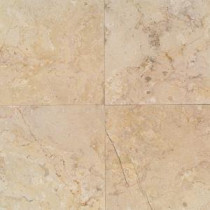 Daltile Natural Stone Collection Sahara Beige 12 in. x 12 in. Marble Floor and Wall Tile (10 sq. ft. / case)