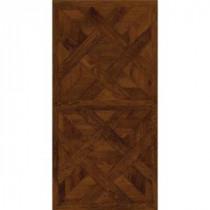 TrafficMASTER Allure 16 in. x 32 in. Chateau Parquet Dark Vinyl Flooring (21.3 sq. ft./case)
