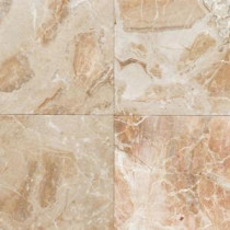 Daltile Natural Stone Collection Breccia Oniciata 12 in. x 12 in. Marble Floor and Wall Tile (10 sq. ft. / case)