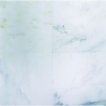 MS International 6 in. x 6 in. Greecian White Marble Floor & Wall Tile