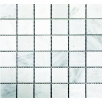 MS International Greecian White 2 in. x 2 in. Polished Marble Mosaic Floor and Wall Tile