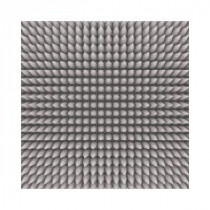 Art Glass Holographic Spikes 12 in. x 12 in. Glass Floor Tile (10 sq. ft. / case)