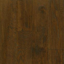 American Vintage Scraped Mocha 3/4 in. Thick x 5 in. Wide x Varying Length Solid Hardwood Flooring (23.5 sq. ft. / case)