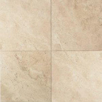 Daltile Travertine Baja Cream 12 in. x 12 in. Natural Stone Floor and Wall Tile (10 sq. ft. / case)