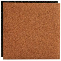 Place N' Go Cork 18.5 in. x 18.5 in. Interlocking Waterproof Vinyl Tile with Built-In Underlayment