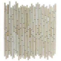 Splashback Tile Windsor Random Jerusalem Gold 12 in. x 12 in. Marble Floor and Wall Tile