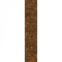 TrafficMASTER Allure 6 in. x 36 in. Chandler Cork Dark Resilient Vinyl Plank Flooring (24 sq. ft./case)