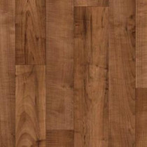 Armstrong 12 ft. Wide Caspian II PLUS Resona Walnut Residential Vinyl Sheet
