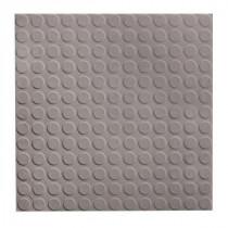 ROPPE Low Profile Circular Design Slate 19.69 in. x 19.69 in. Dry Back Tile