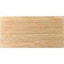 Elite Trav Dore Plank 16 in. x 32 in. Filled and Honed Travertine Floor Tile (7.10 sq. ft. / case)