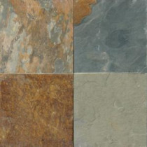 MS International 24 in. x 24 in. Three Rivers Gold Slate Floor and Wall Tile