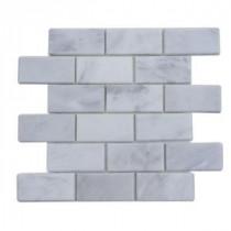 Splashback Tile Oriental 12 in. x 12 in. Marble Floor and Wall Tile