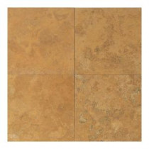 Daltile Travertine Sienna Gold 18 in. x 18 in. Natural Stone Floor and Wall Tile (9 sq. ft. / case)