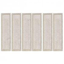Jeffrey Court 16 in. x 4 in. Creama Beveled Marble Wall Tile (10.56 sq. ft. / case)