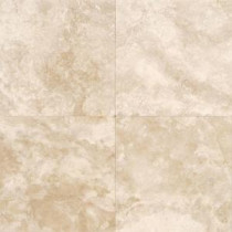 Daltile Travertine Torreo 16 in. x 16 in. Honed Natural Stone Floor and Wall Tile (10.68 sq. ft. / case)