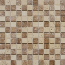 Instant Mosaic 12 in. x 12 in. Peel and Stick Natural Stone Wall Tile