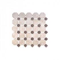 Daltile Mendocino Golden Sand 2 in. x 12 in. Ceramic Decorative Border Wall Tile