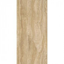TrafficMASTER Allure 12 in. x 24 in. Ivory Travertine Vinyl Plank Flooring (24 sq. ft. / case)