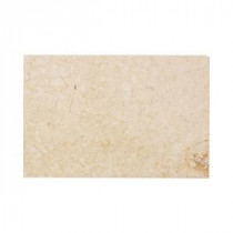Jeffrey Court Creama Honed 8 in. x 12 in. Marble Wall / Floor Tile