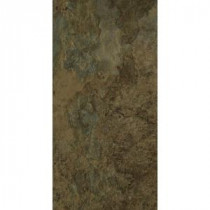 TrafficMASTER Allure 12 in. x 24 in. Harrison Slate Vinyl Tile (24 sq. ft. / case)