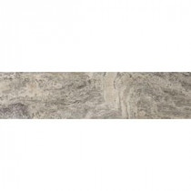 Choice Trav Silver Veincut Plank 6 in. x 24 in. Filled and Honed Travertine Floor Tile (3.92 sq. ft. / case)