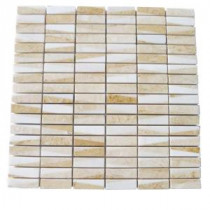 Splashback Tile Great Ulysses 12 in. x 12 in. Marble Floor and Wall Tile