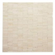 Solistone Post Modern Mondrian 12 in. x 12 in. x 6.35 mm Marble Mesh-Mounted Mosaic Wall Tile (10 sq. ft. / case)