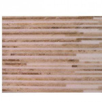 Splashback Tile Great Napoleon Marble Floor and Wall Tile - 6 in. x 12 in. Tile Sample