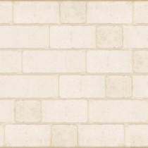 Jeffrey Court 12 in. x 12 in. Cream Travertine Light Block Mosaic Tile