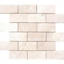 MS International Bologna Chiaro 3 in. x 6 in. Travertine Floor & Wall Tile